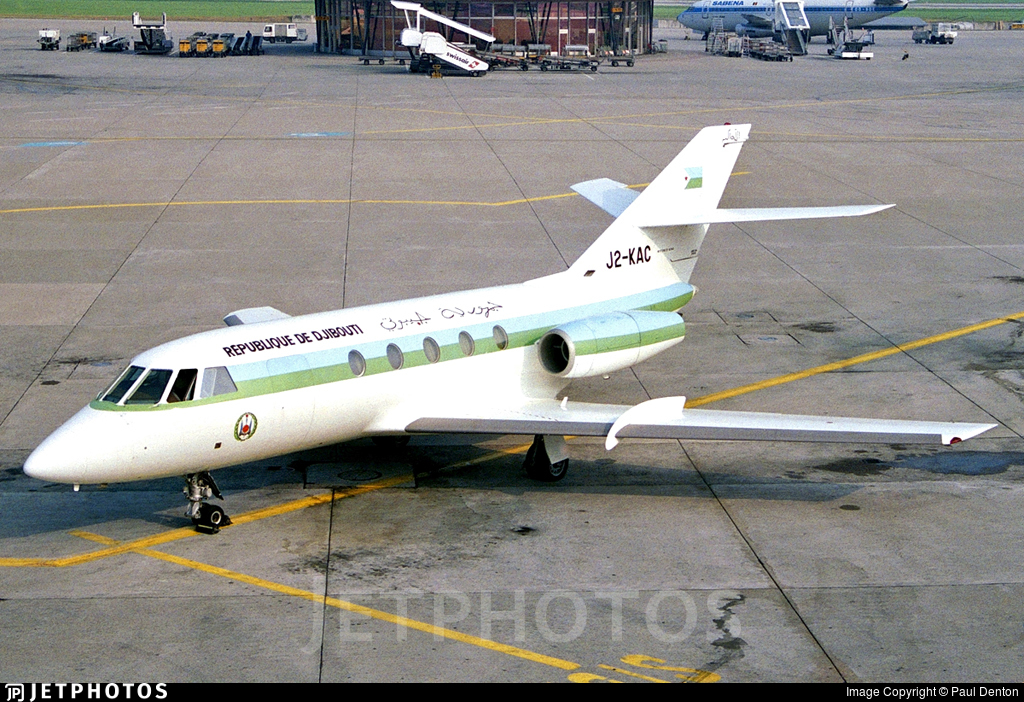J2-KAC - Dassault Falcon 20 - Djibouti - Government