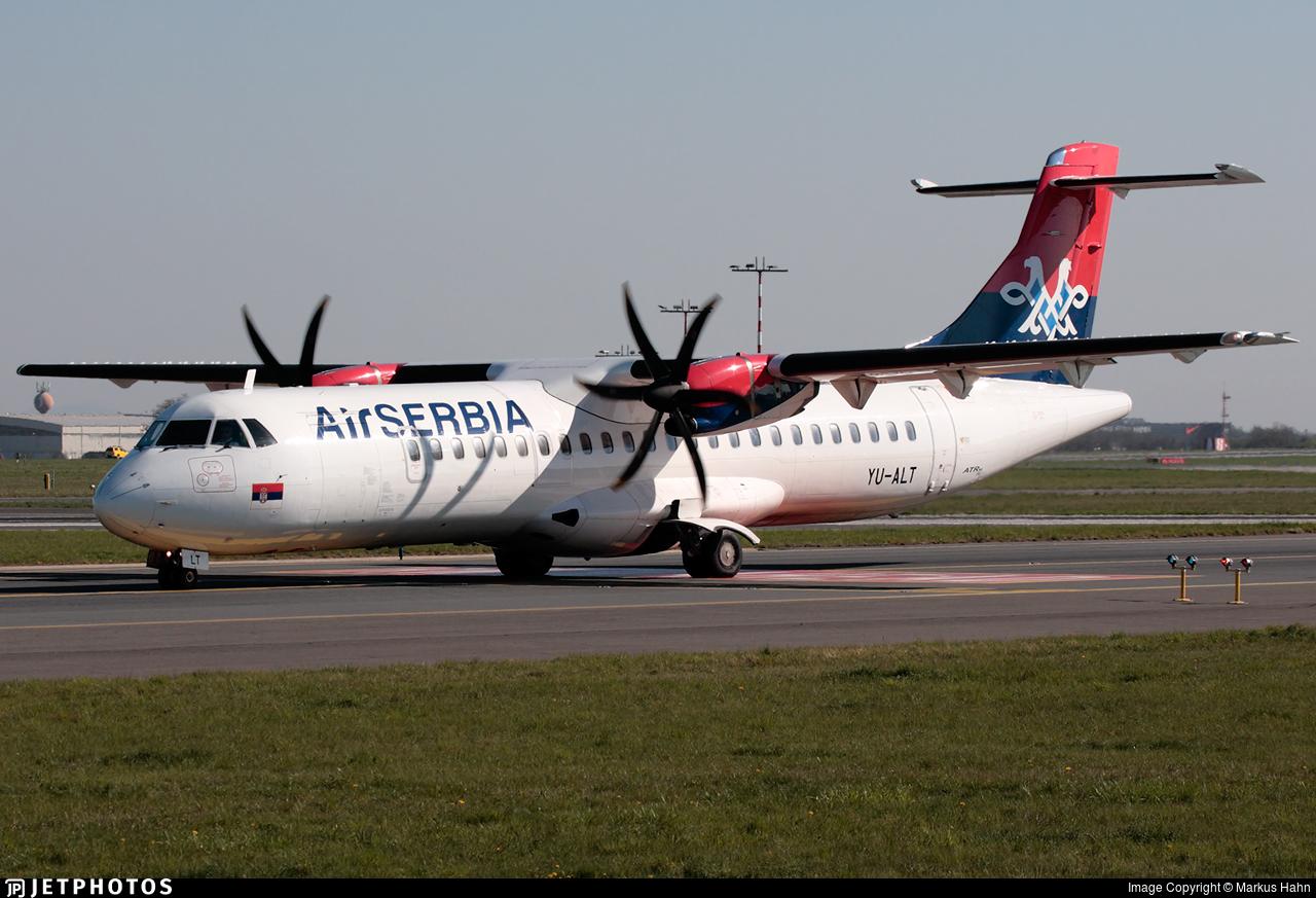 YU-ALT - ATR 72-212A(500) - Air Serbia