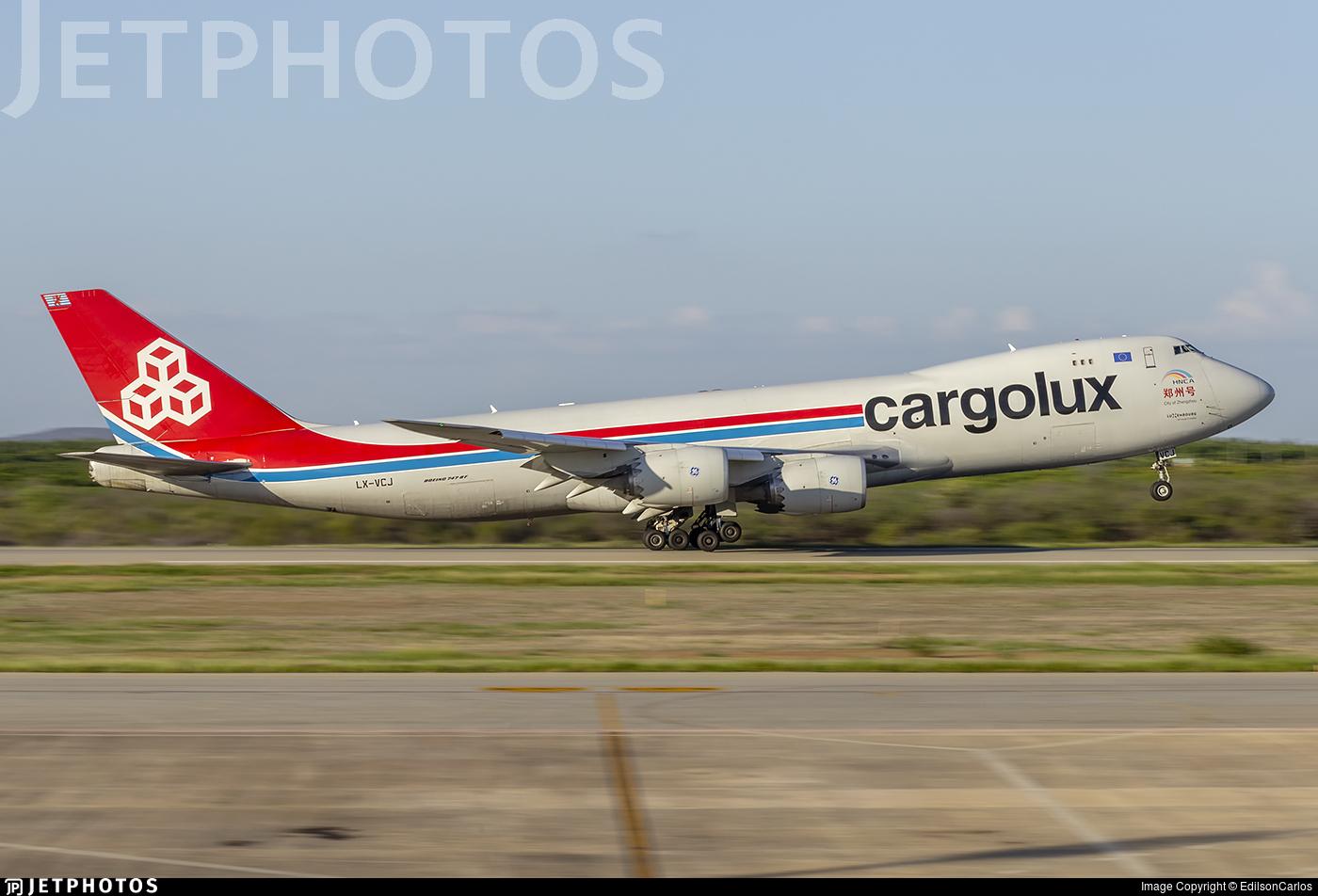LX-VCJ - Boeing 747-8R7F - Cargolux Airlines International