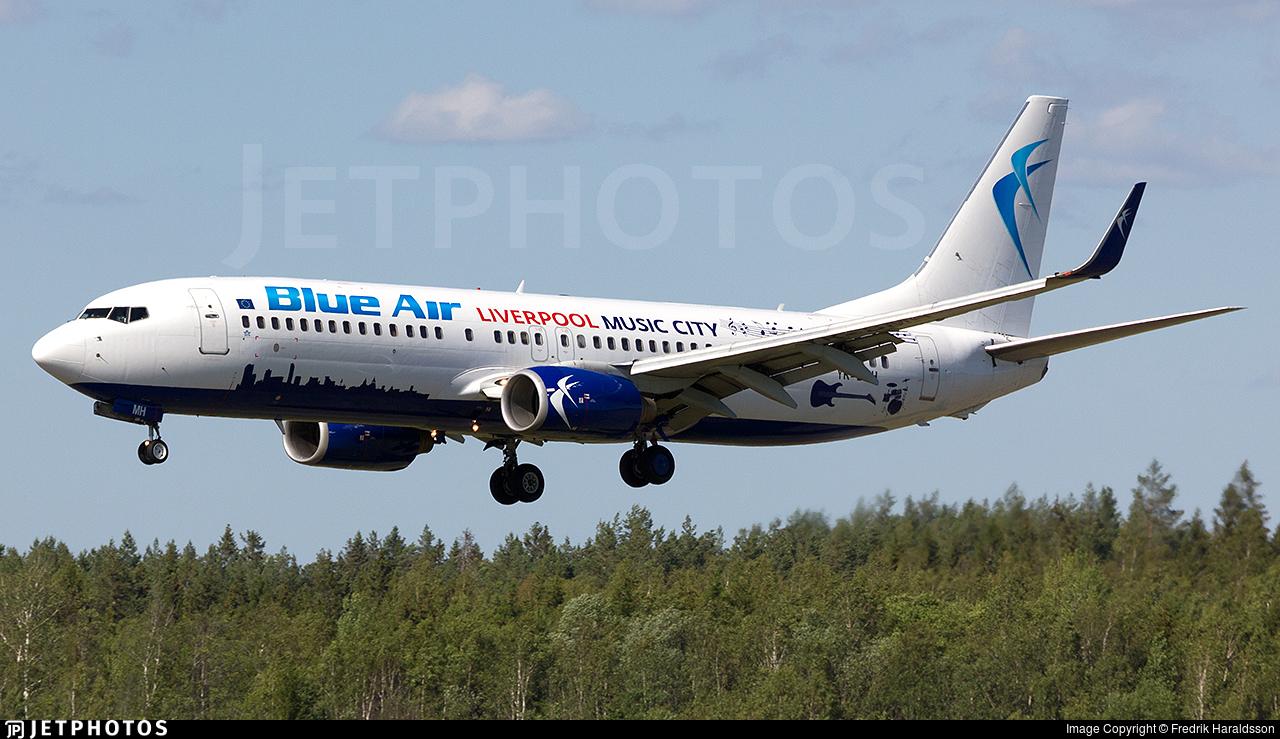 YR-BMH - Boeing 737-8K5 - Blue Air