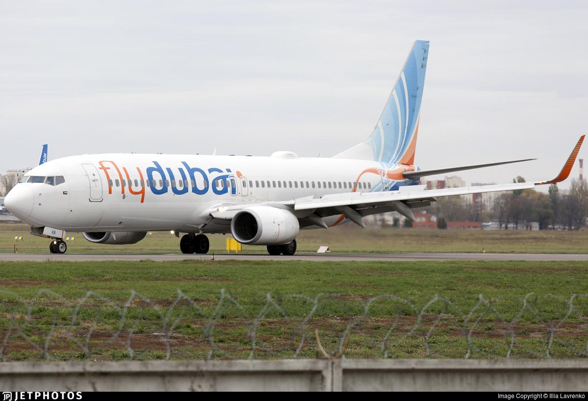 A6-FEB - Boeing 737-8KN - flydubai