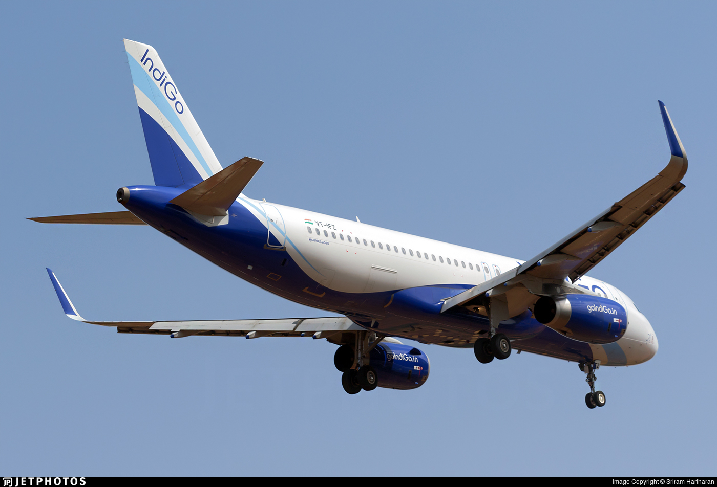 VT-IFZ - Airbus A320-232 - IndiGo Airlines