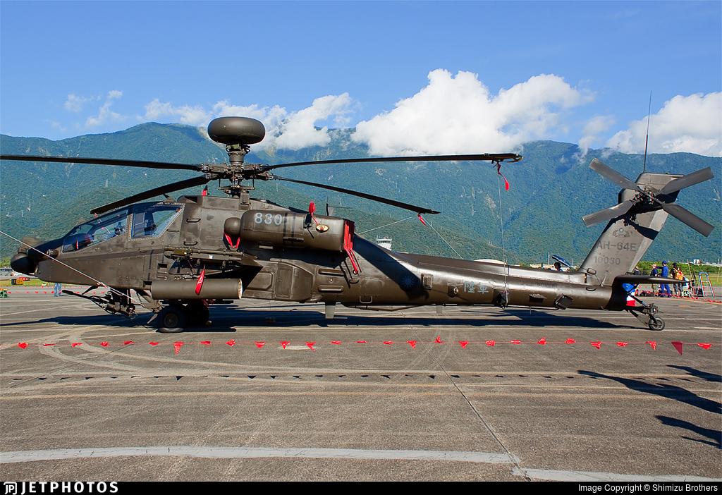 830 - Boeing AH-64E Apache Guardian - Taiwan - Army