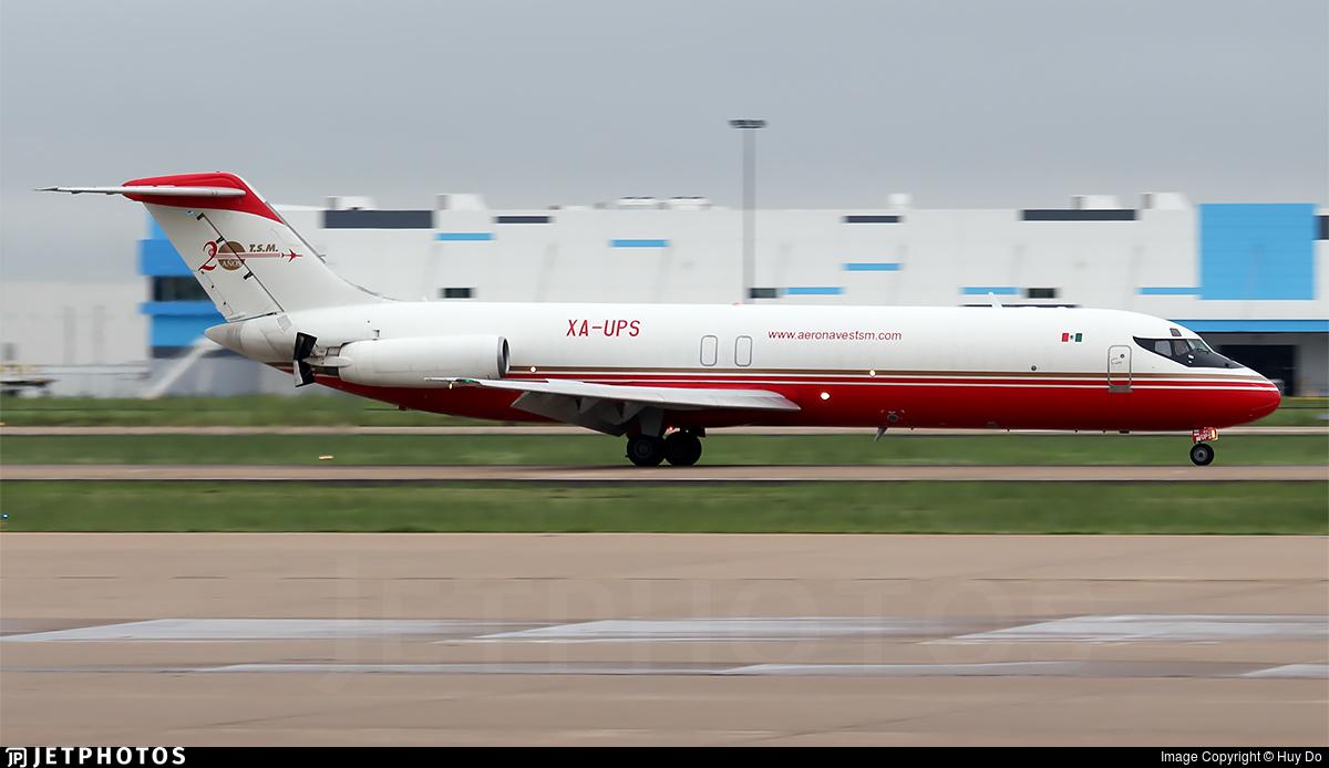 XA-UPS - McDonnell Douglas DC-9-33(F) - Aeronaves TSM