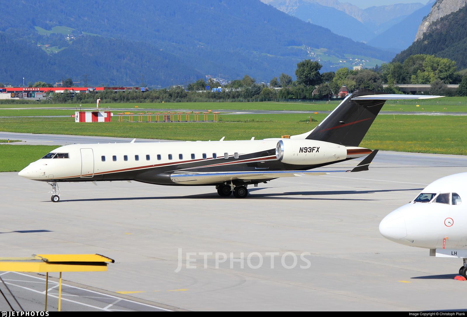 N93FX - Bombardier BD-700-1A10 Global Express XRS - Flexjet