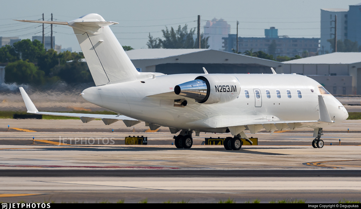 N263JM - Bombardier CL-600-2B16 Challenger 650 - Private