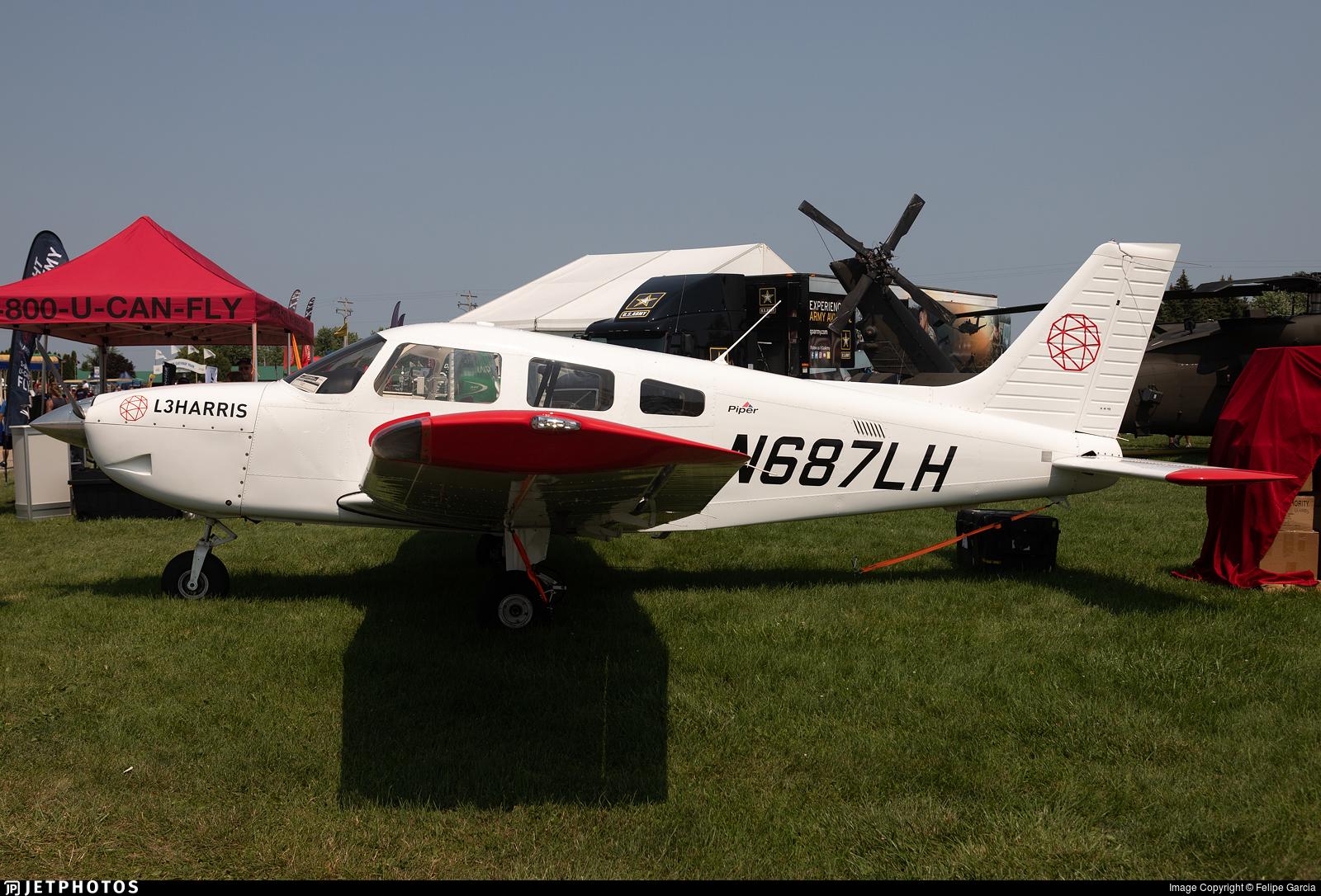 N687LH - Piper PA-28-181 Archer TX - L3Harris