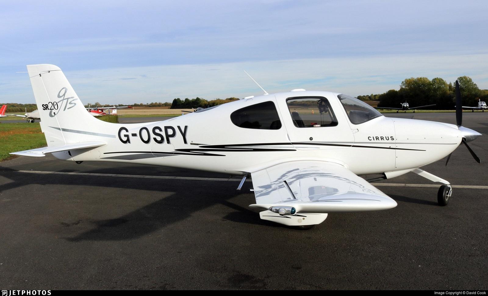 G-OSPY - Cirrus SR20-GTS - Private