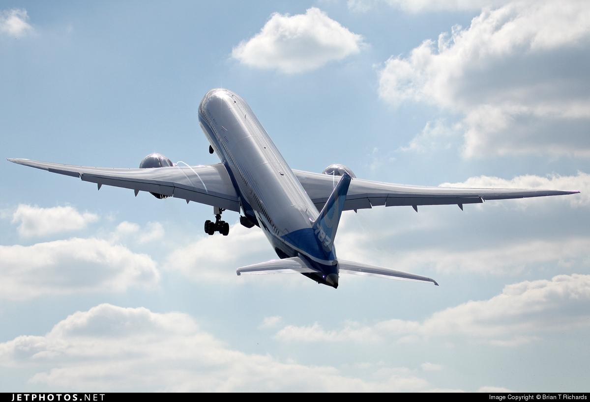 N789EX - Boeing 787-9 Dreamliner - Boeing Company