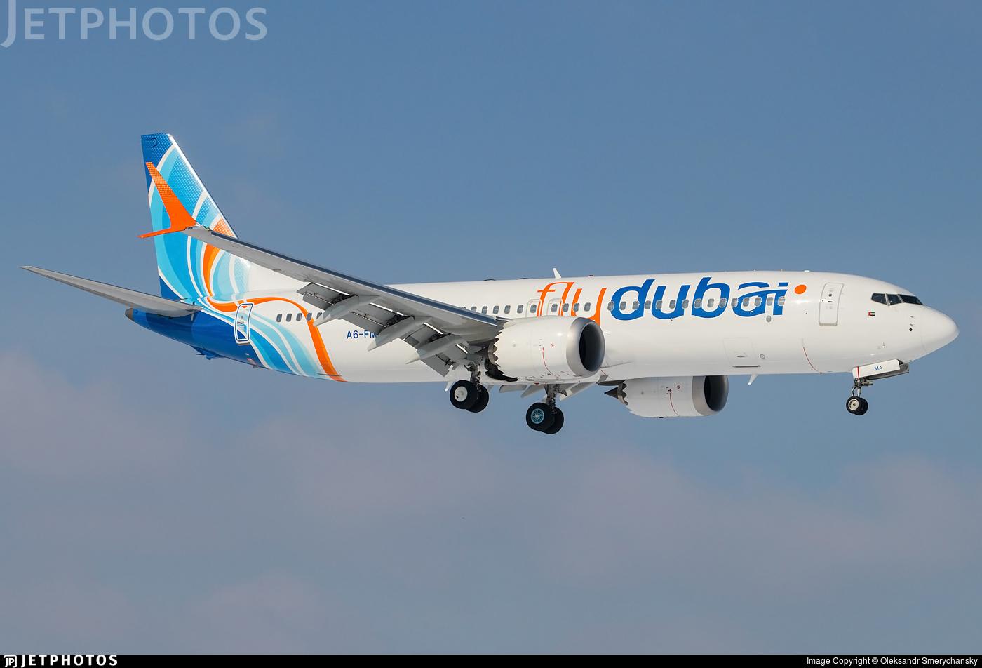 A6-FMA - Boeing 737-8 MAX - flydubai