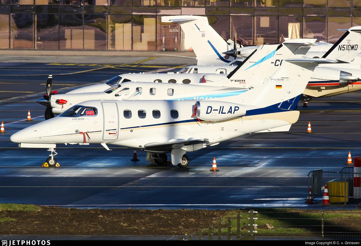 D-ILAP - Embraer 500 Phenom 100 - Private
