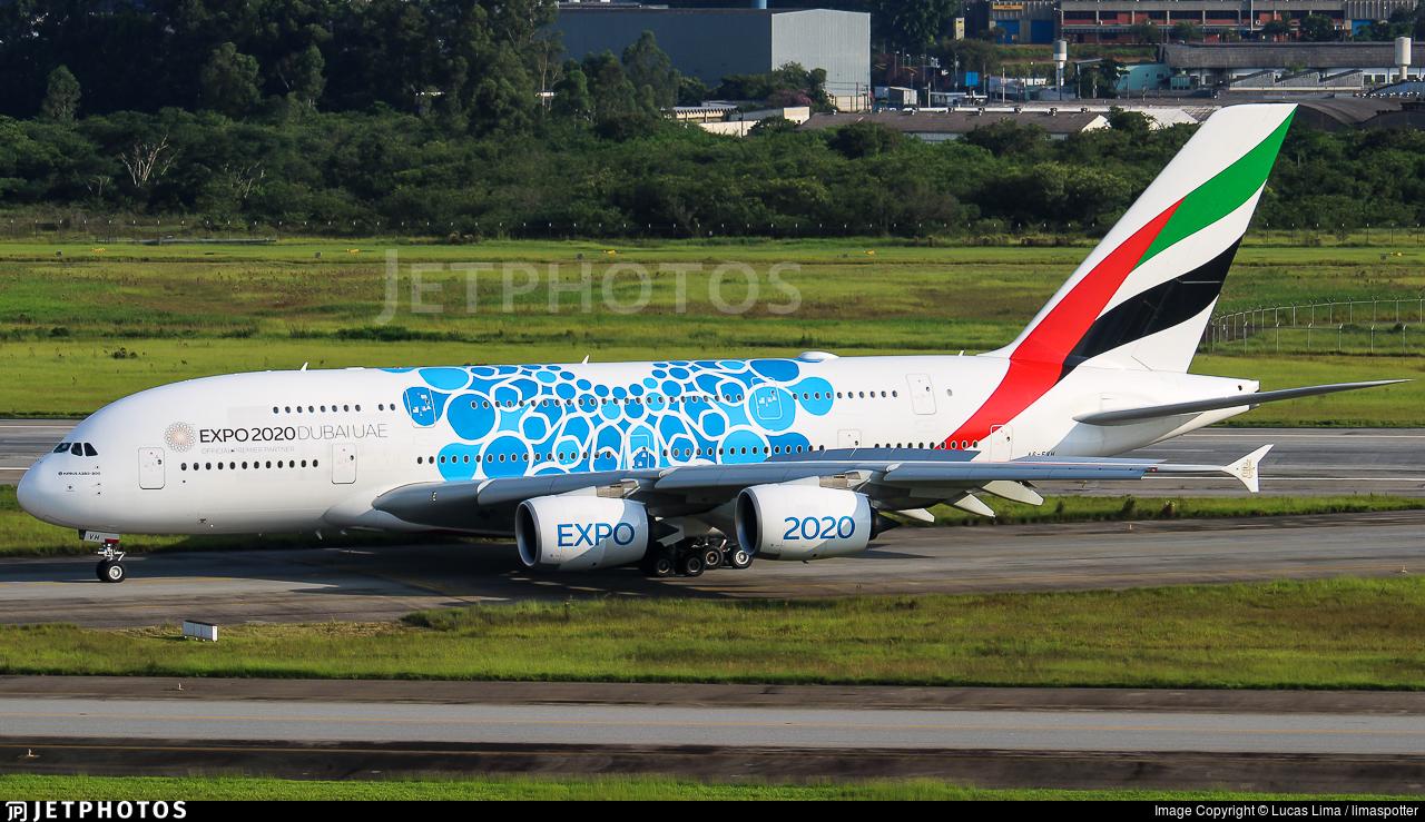 A6-EVH - Airbus A380-842 - Emirates