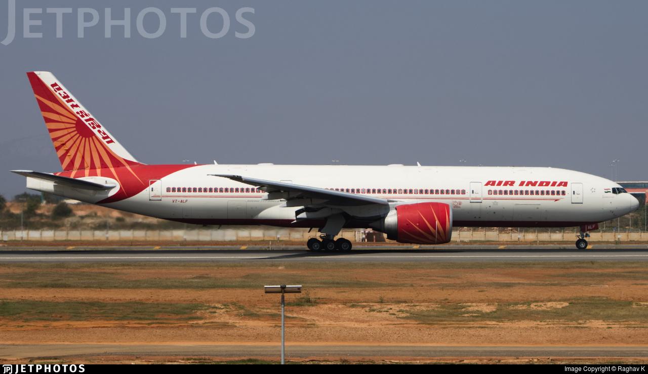 VT-ALF - Boeing 777-200LR - Air India