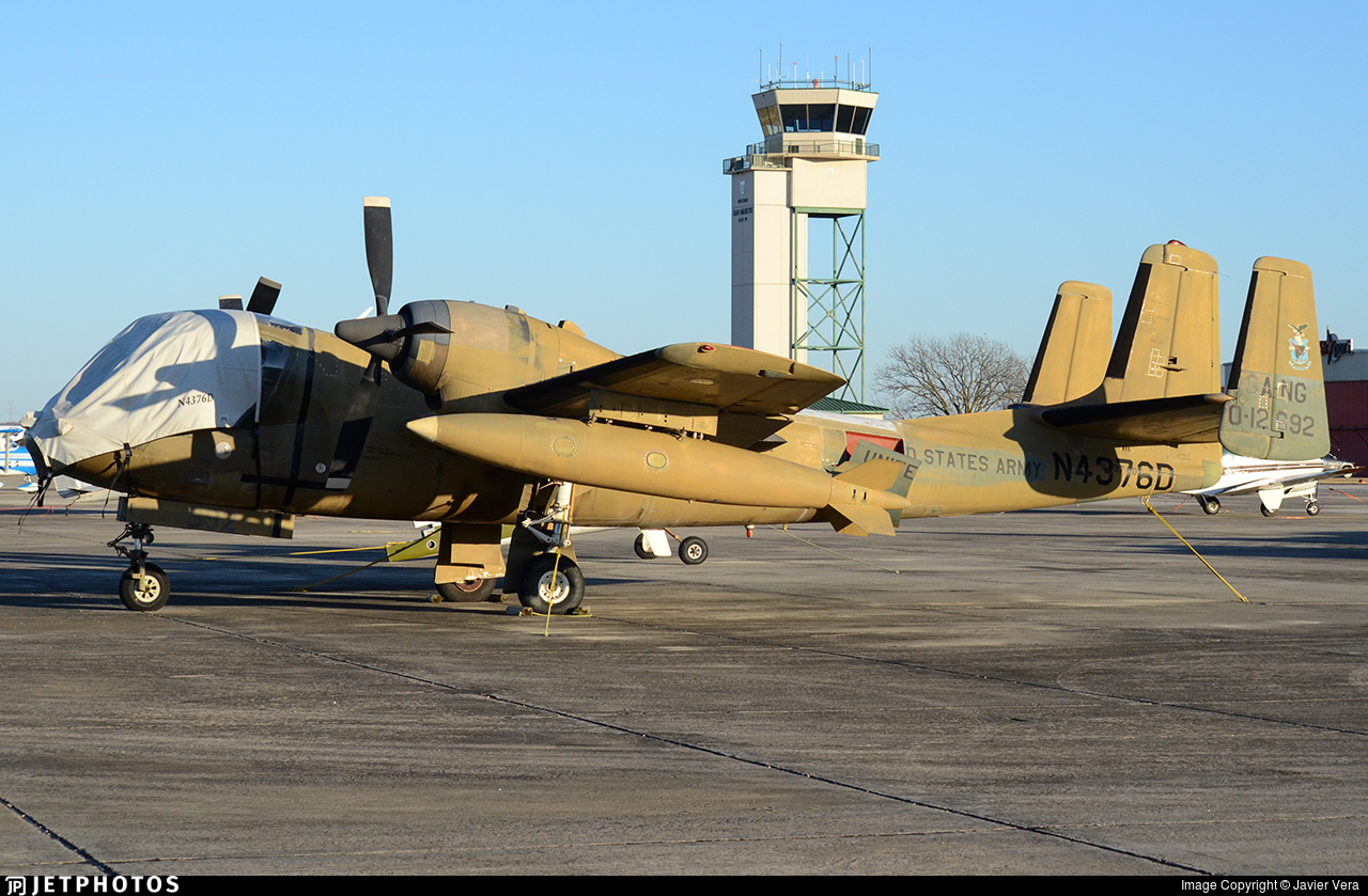 N4376D - Grumman OV-1C Mohawk - Private