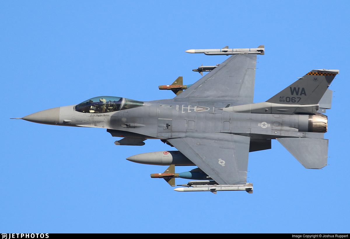 89-2067 - Lockheed Martin F-16C Fighting Falcon - United States - US Air Force (USAF)