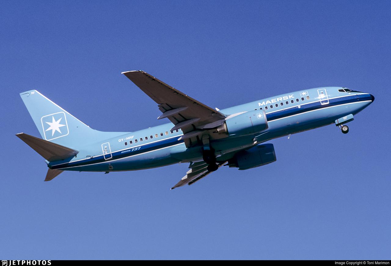 OY-MRF - Boeing 737-7L9 - Maersk Air