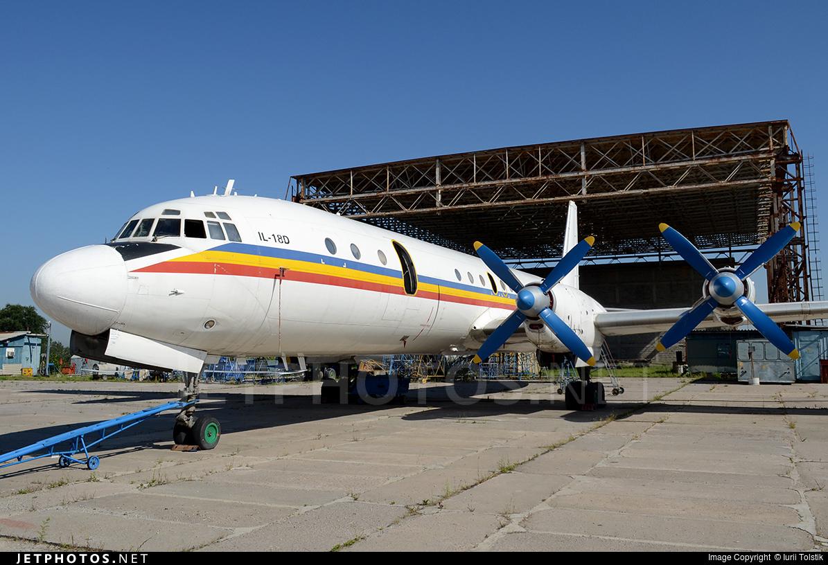 ER-ICS - Ilyushin IL-18D - Sky Prim Air
