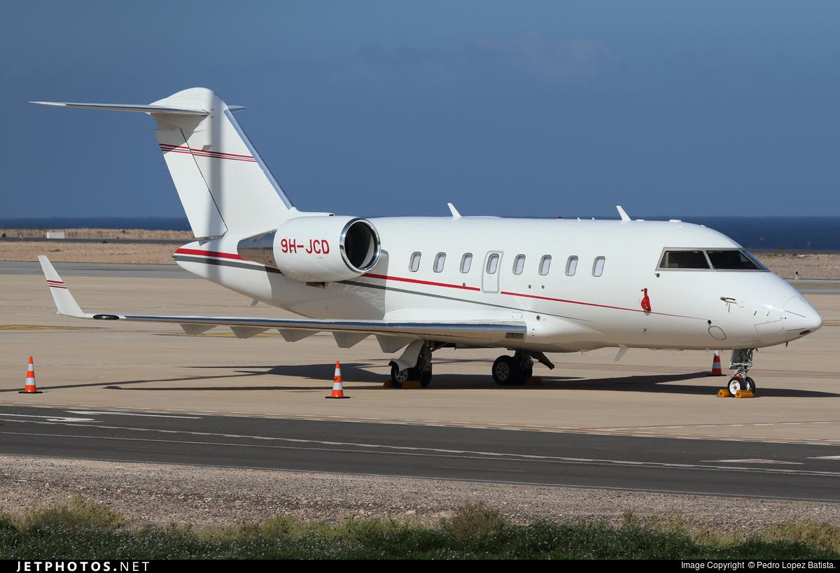 9H-JCD - Bombardier CL-600-2B16 Challenger 605 - Comlux Aviation Malta