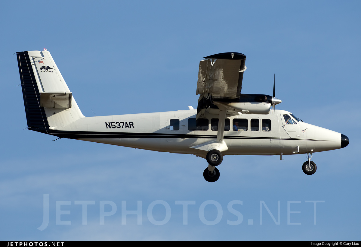N537AR - De Havilland Canada DHC-6-300 Twin Otter - Private