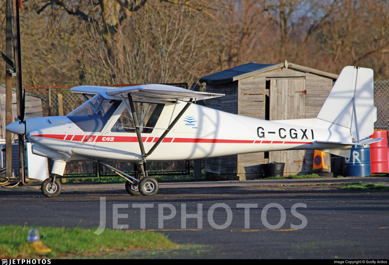 G-CGXI - Ikarus C-42 FB80 - Private