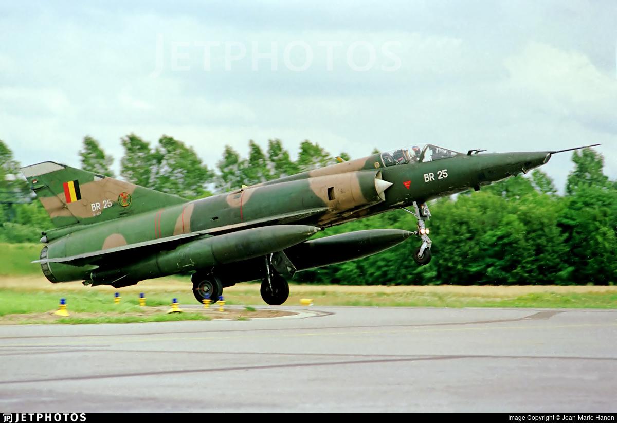BR25 - Dassault Mirage 5BR - Belgium - Air Force