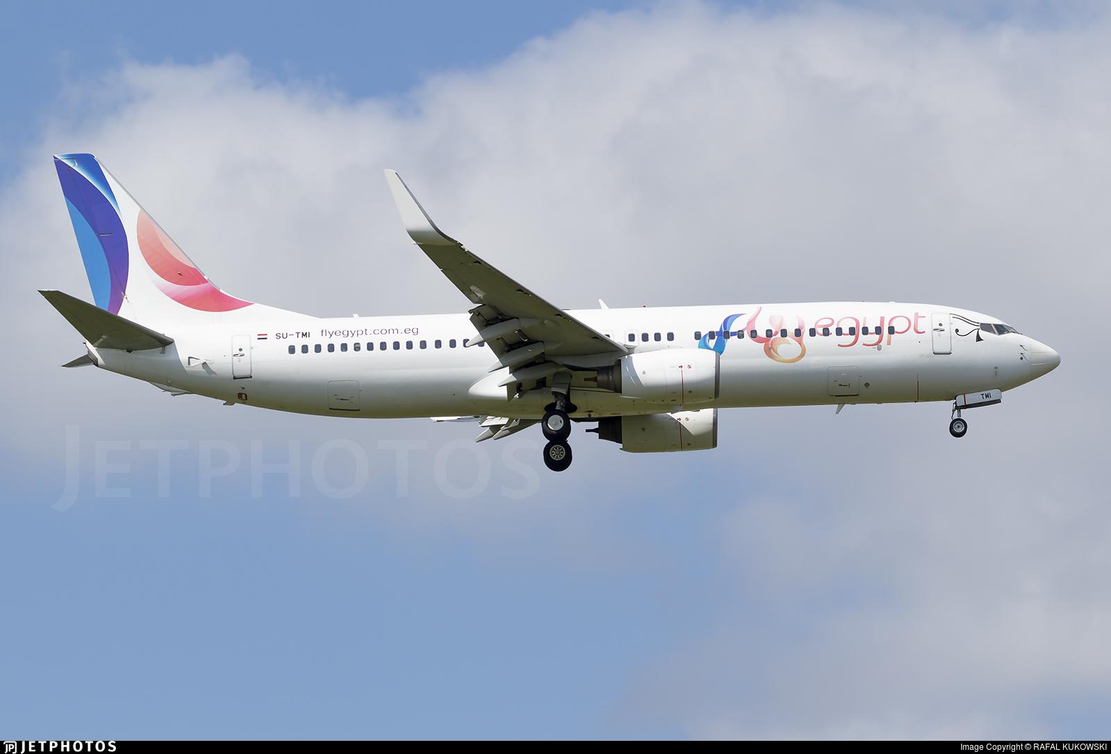 SU-TMI - Boeing 737-85P - FlyEgypt