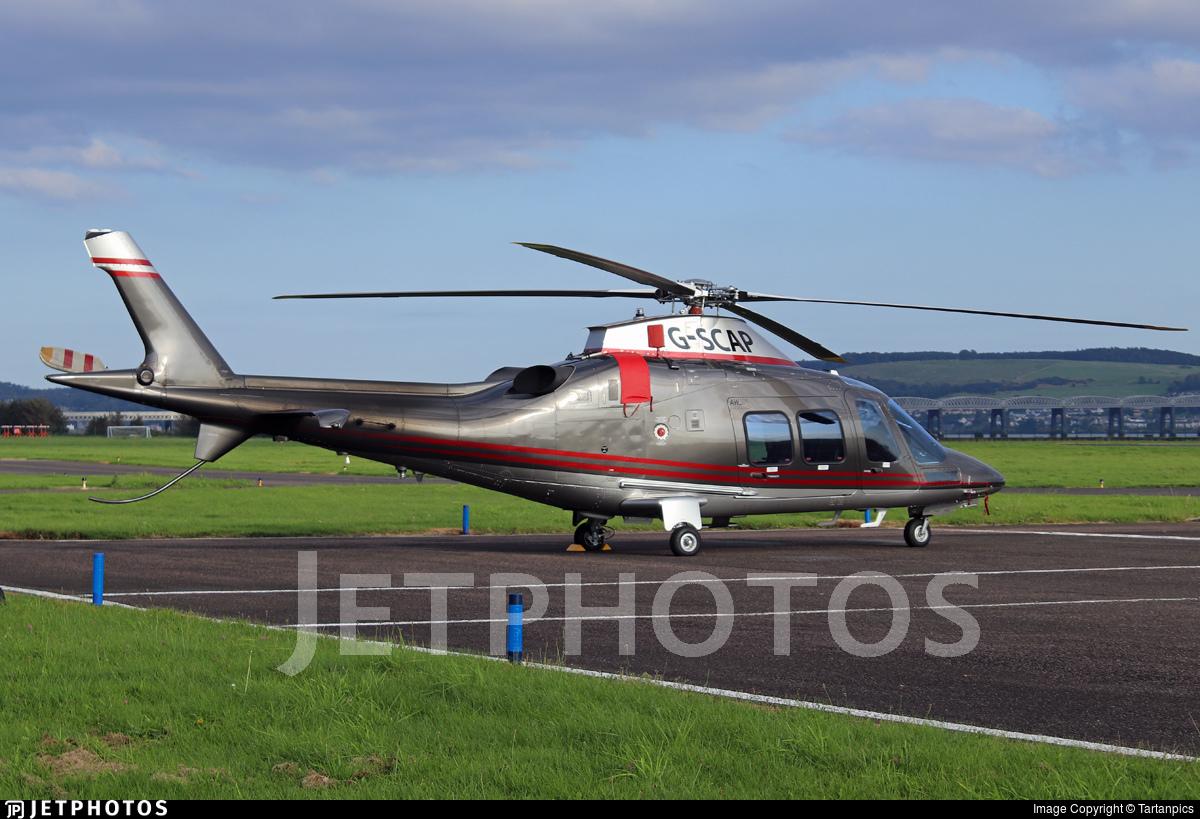G-SCAP - Agusta-Westland AW-109SP - Private