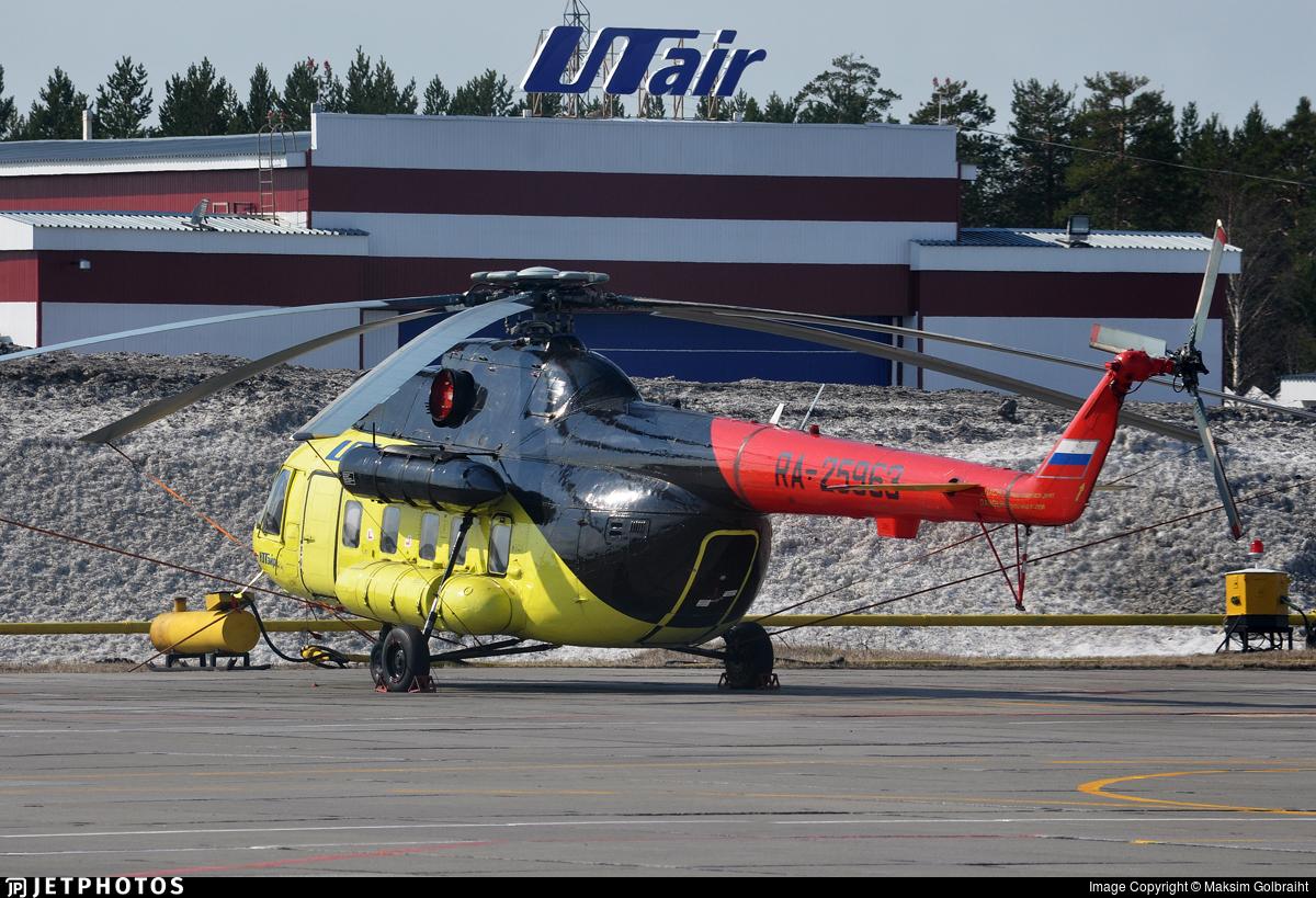 RA-25963 - Mil Mi-8P Hip - UTair Aviation
