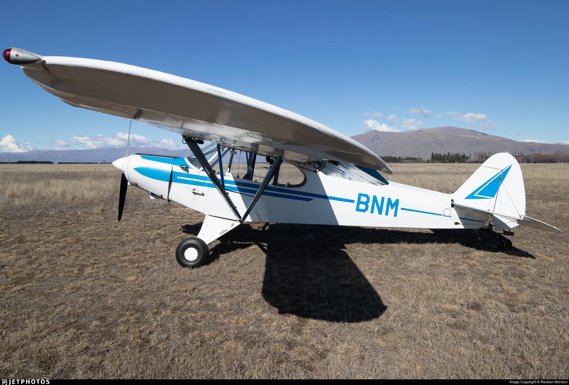 ZK-BNM - Piper PA-18-150 Super Cub - South Canterbury Aero Club