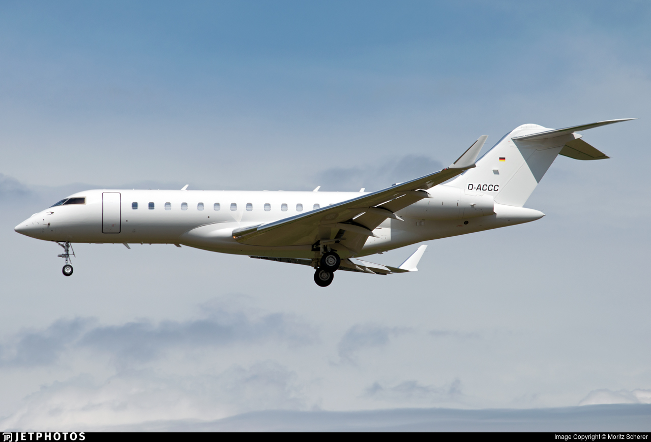 D-ACCC - Bombardier BD-700-1A10 Global Express XRS - ACM Air Charter