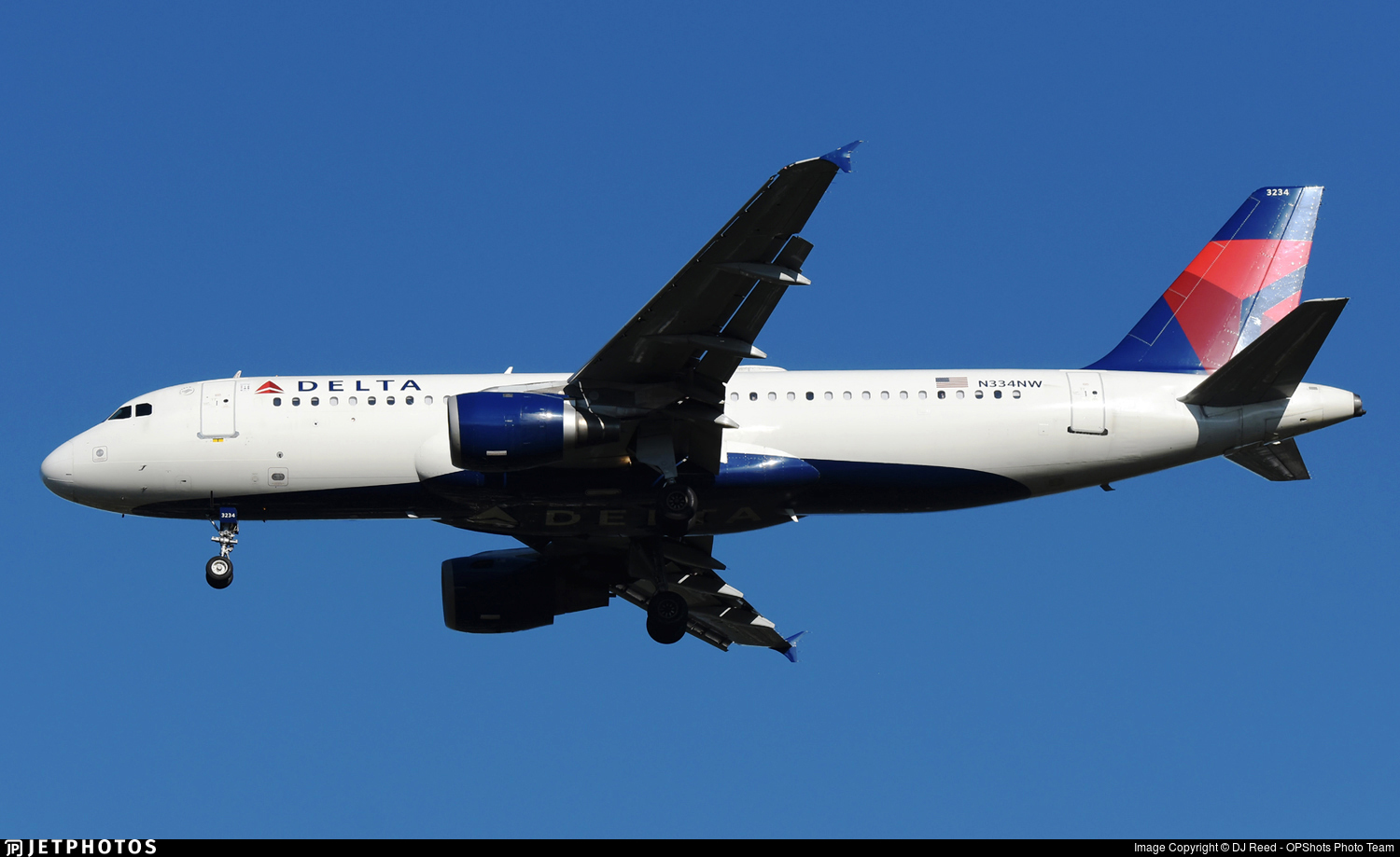 N334NW - Airbus A320-212 - Delta Air Lines