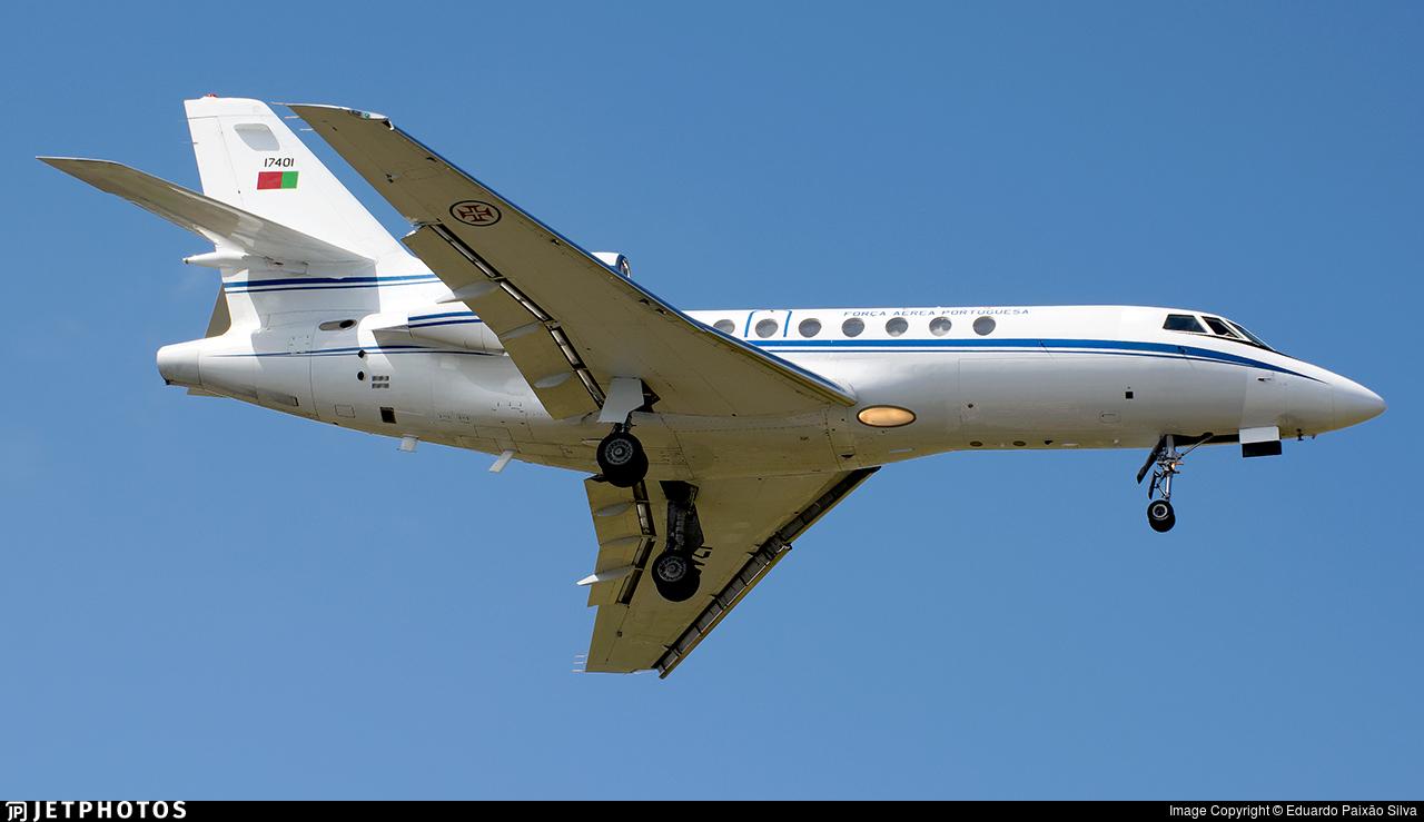 17401 - Dassault Falcon 50 - Portugal - Air Force