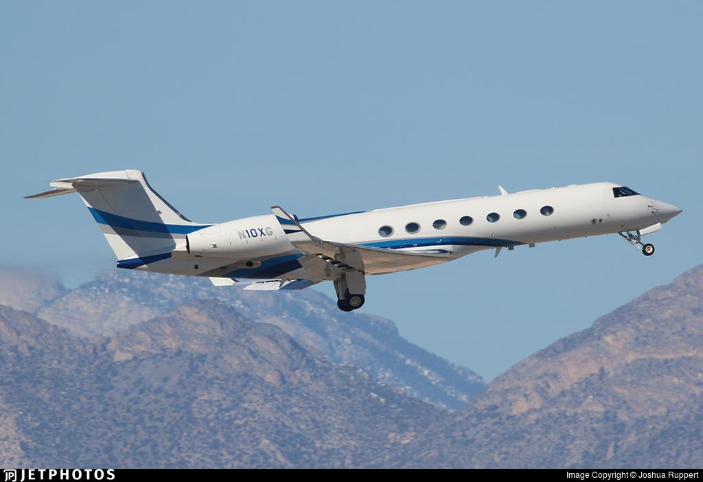 N10XG - Gulfstream G550 - Private