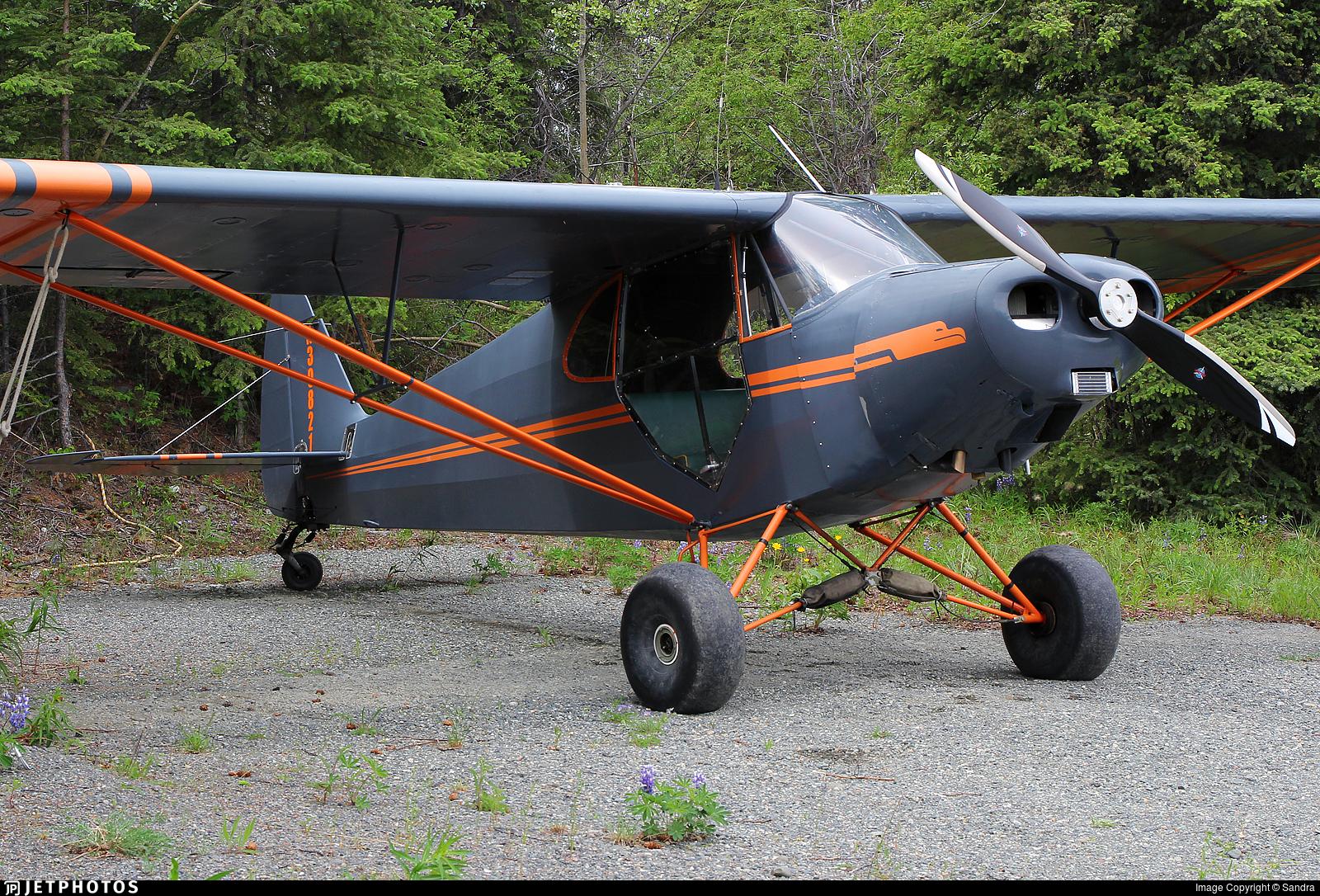 N30821 - Piper J-5A Cub Cruiser - Private