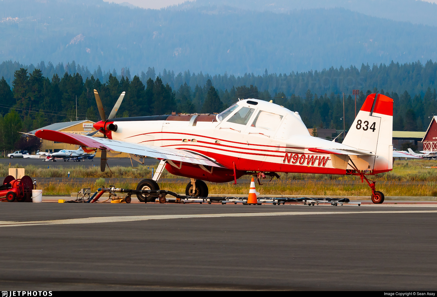 N90WW - Air Tractor AT-802 - Private