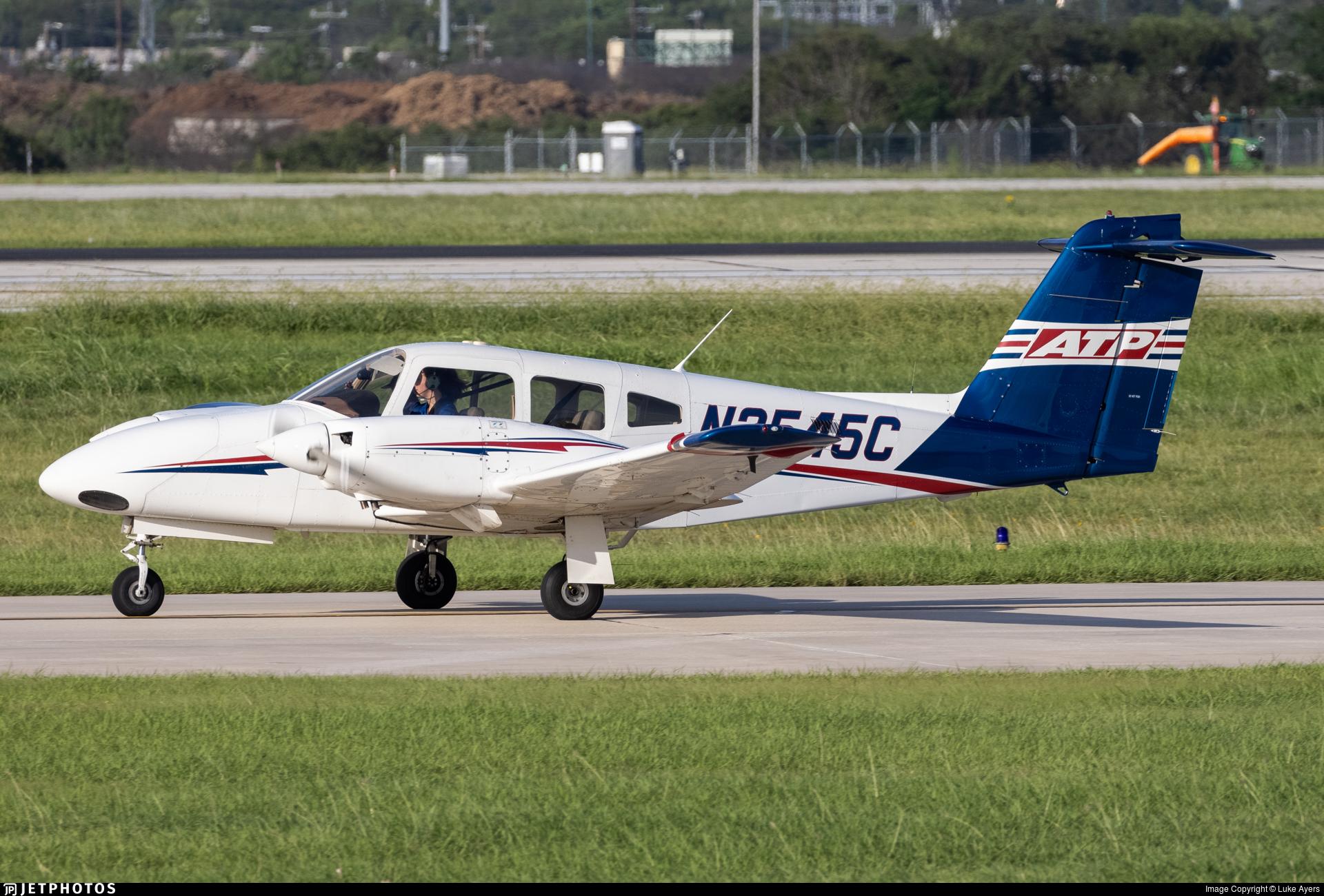 N2545C - Piper PA-44-180 Seminole - ATP Flight School