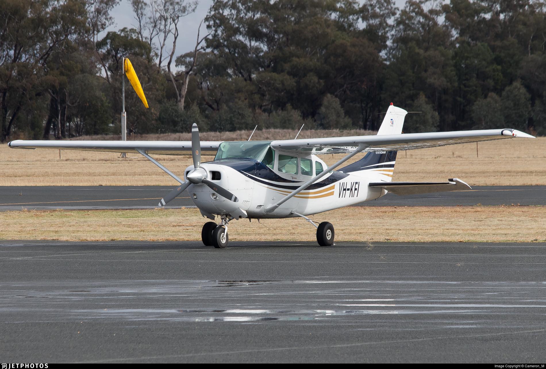 VH-KFI - Cessna U206G Stationair - Private