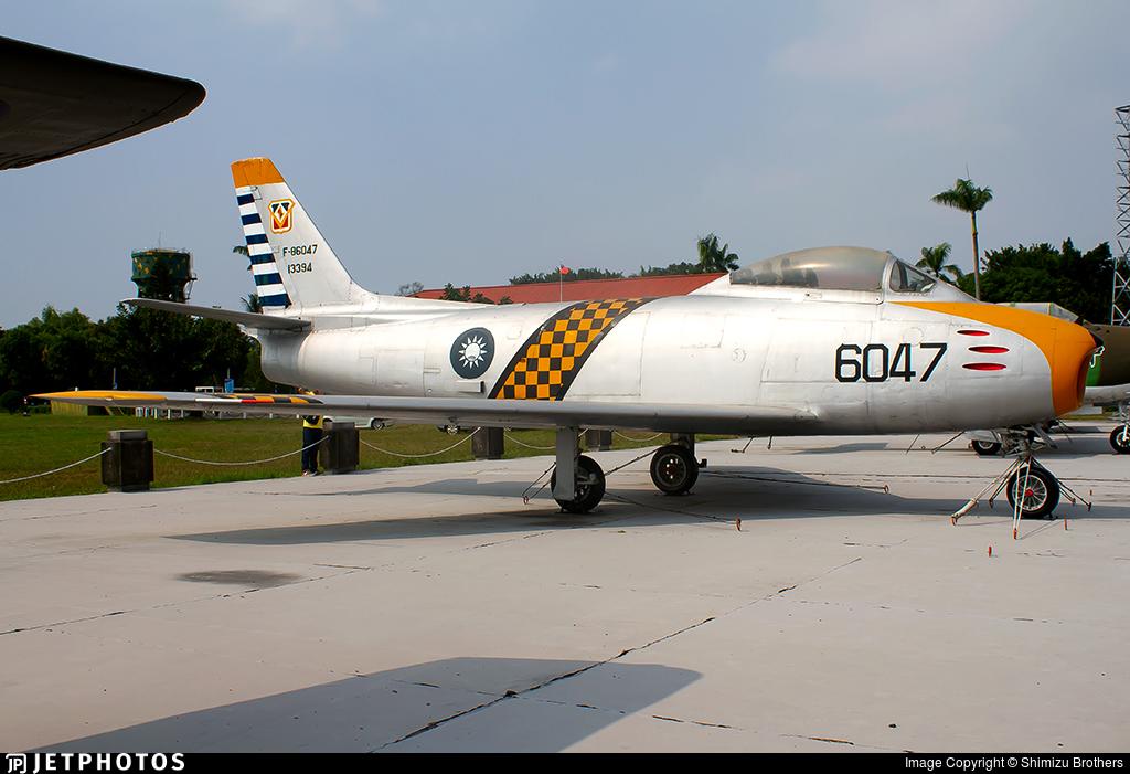 6047 - North American F-86F Sabre - Taiwan - Air Force