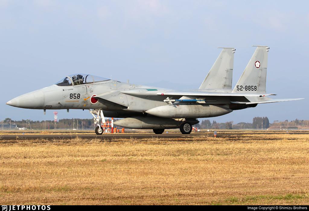 52-8858 - McDonnell Douglas F-15J Eagle - Japan - Air Self Defence Force (JASDF)