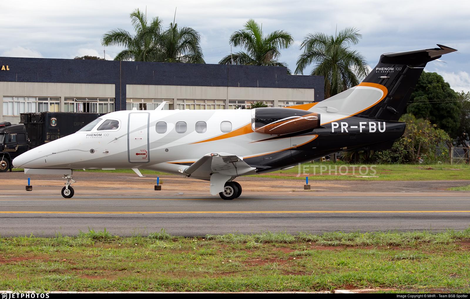 PR-FBU - Embraer 500 Phenom 100 - Private