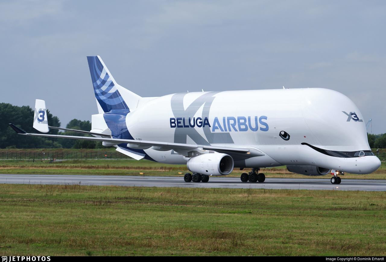 F-GXLI - Airbus A330-743L - Airbus Transport International