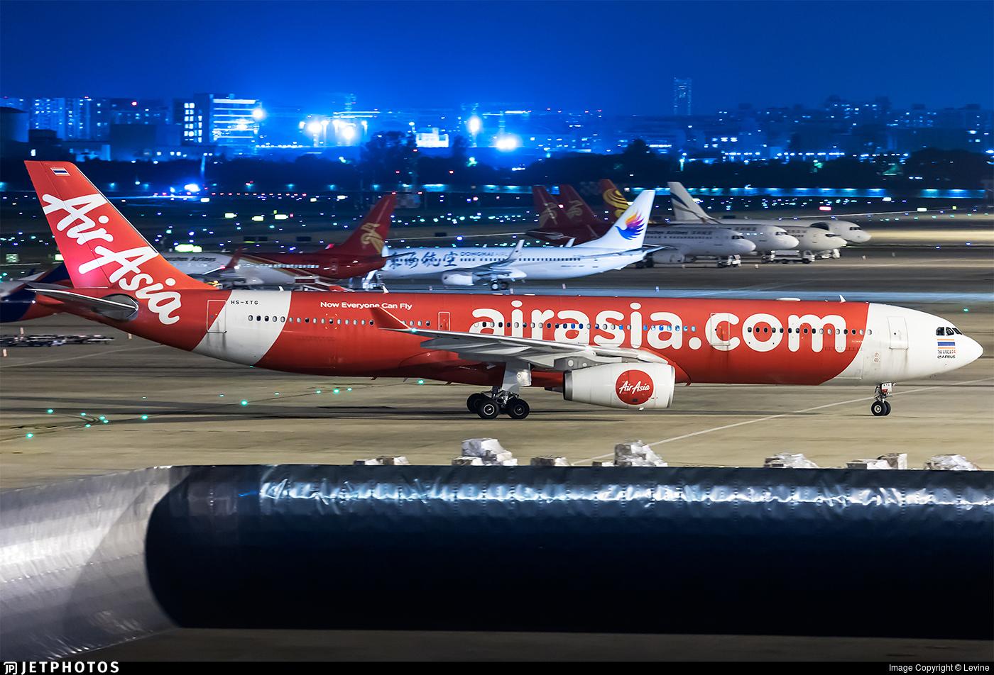 HS-XTG - Airbus A330-343 - Thai AirAsia X