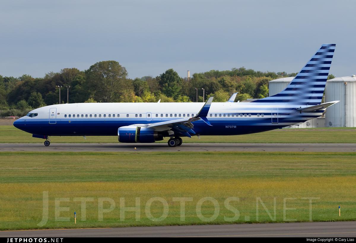 N737M - Boeing 737-8EQ(BBJ2) - Private