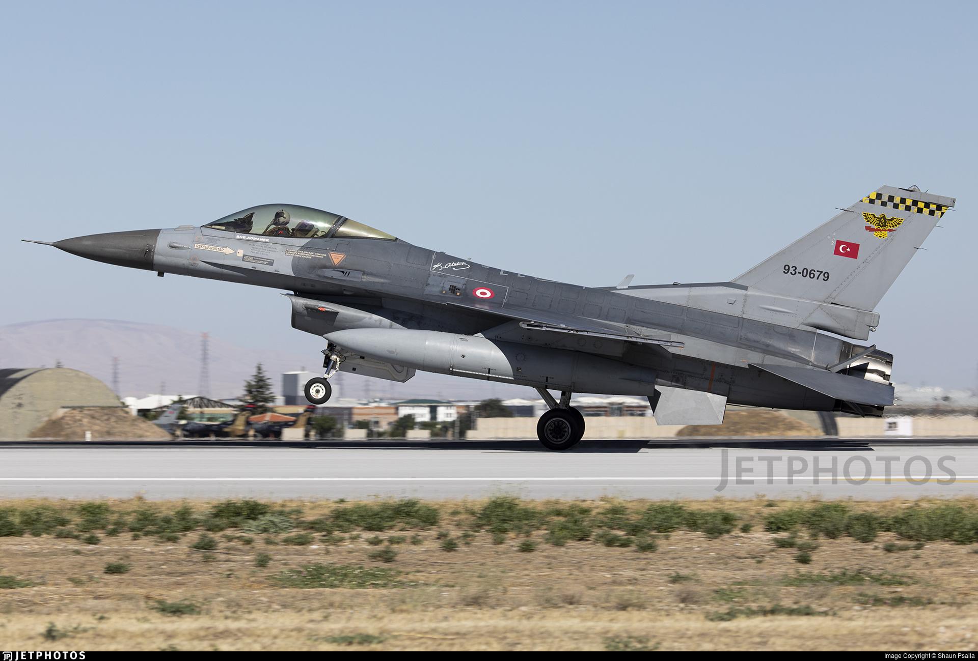 93-0679 - Lockheed Martin F-16C Fighting Falcon - Turkey - Air Force