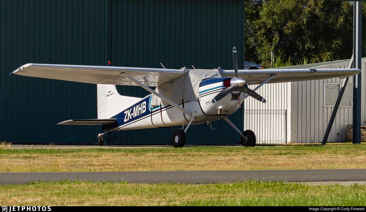 ZK-MHB - Cessna 185B Skywagon - Garden City Helicopters