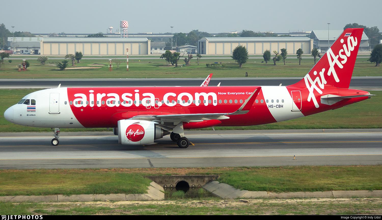 HS-CBH - Airbus A320-251N - Thai AirAsia