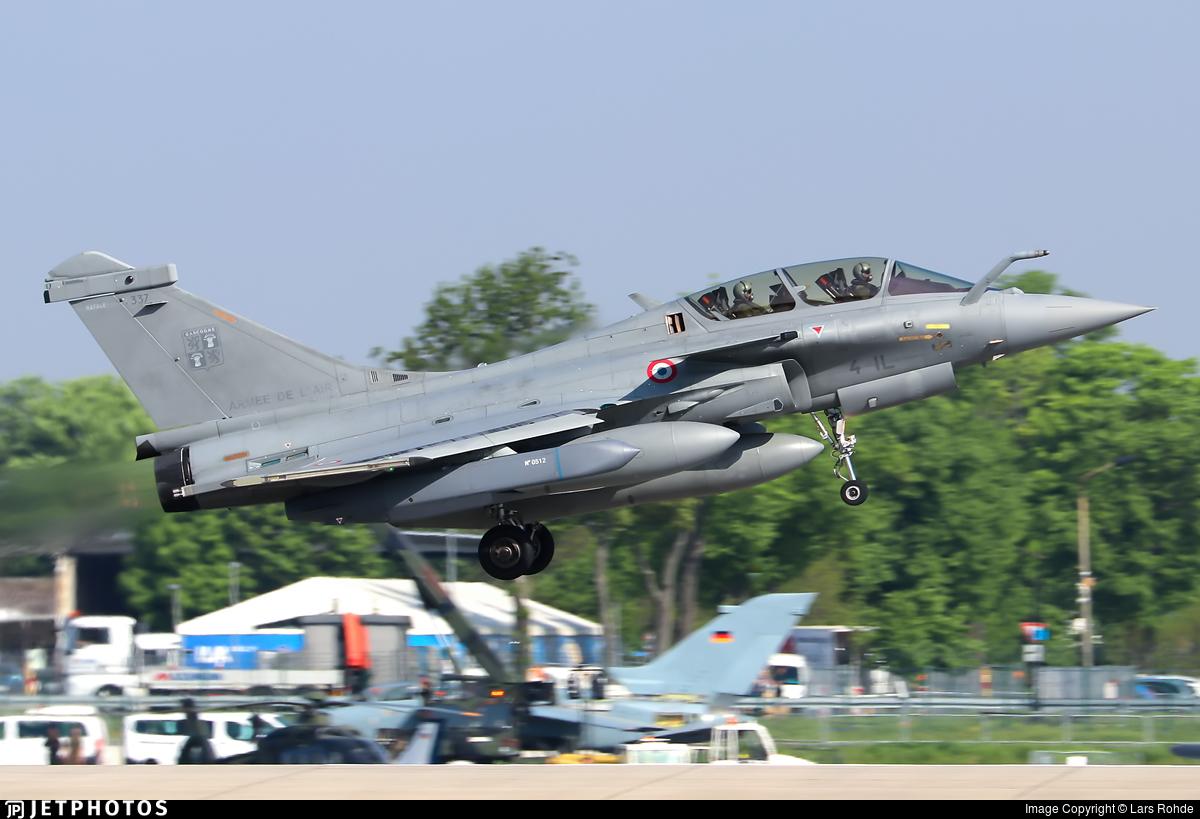 337 - Dassault Rafale B - France - Air Force