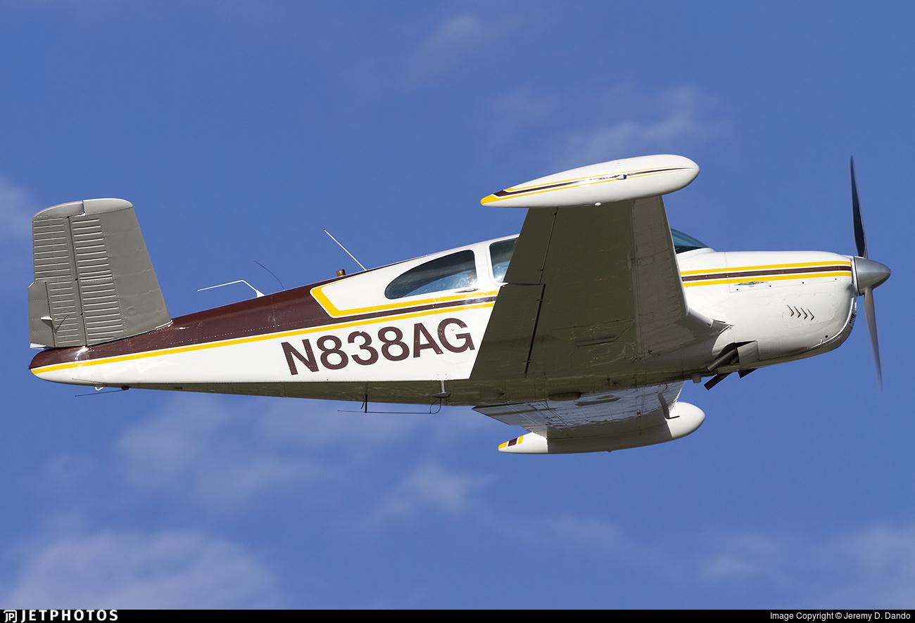 N838AG - Beechcraft N35 Bonanza - Private