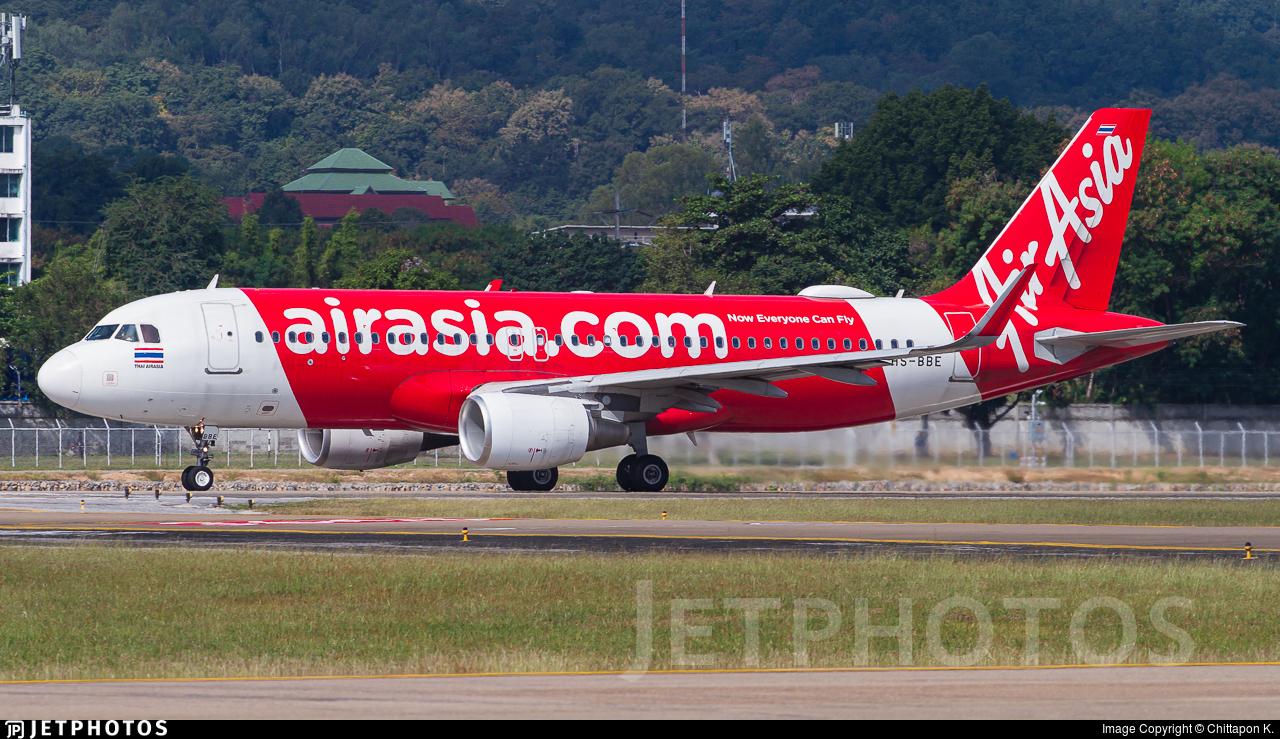 HS-BBE - Airbus A320-216 - Thai AirAsia