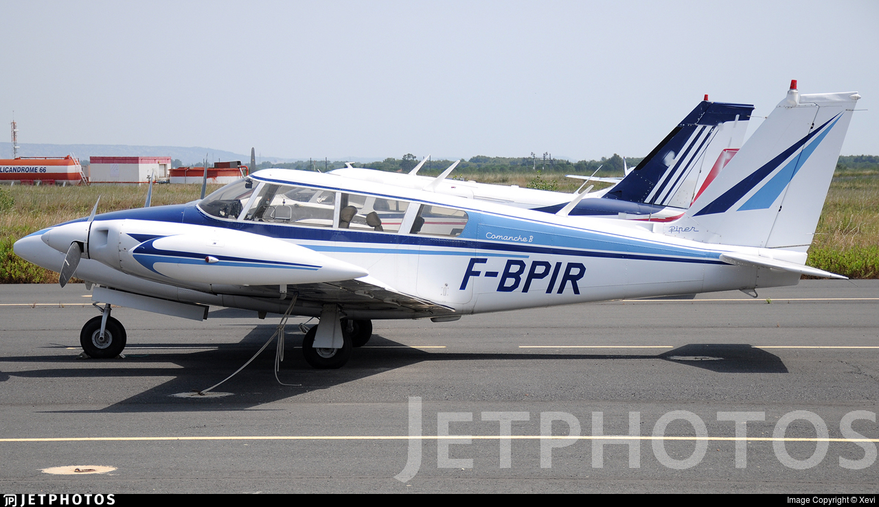 F-BPIR - Piper PA-30-160 Twin Comanche B - Private